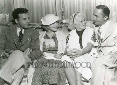 Dick Powell, Mary Carlisle, Jean Harlow, William Powell
