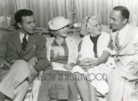 Dick Powell, Mary Carlisle, Jean Harlow, William Powell