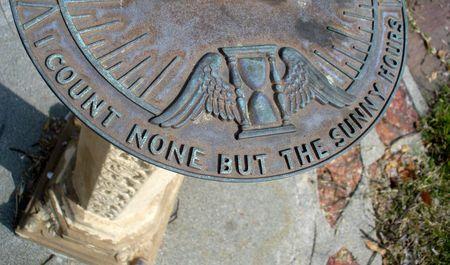 Garden of Memory Sundial