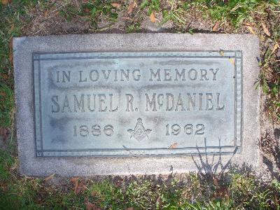 Samuelmcdanielgrave