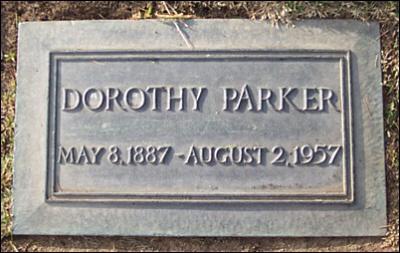 Dorothyparkerheadstone