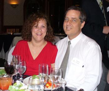Lisa & Walter at the HU Dinner