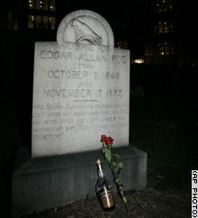 Poe Grave by AP