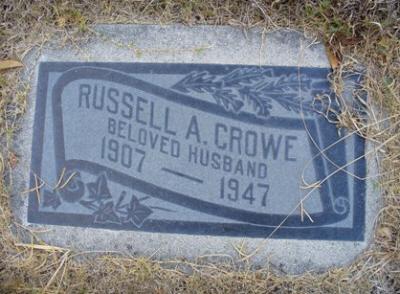 Russell Crowe headstone